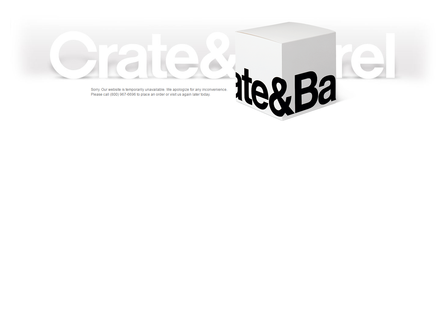 Crate and Barrel Coupon