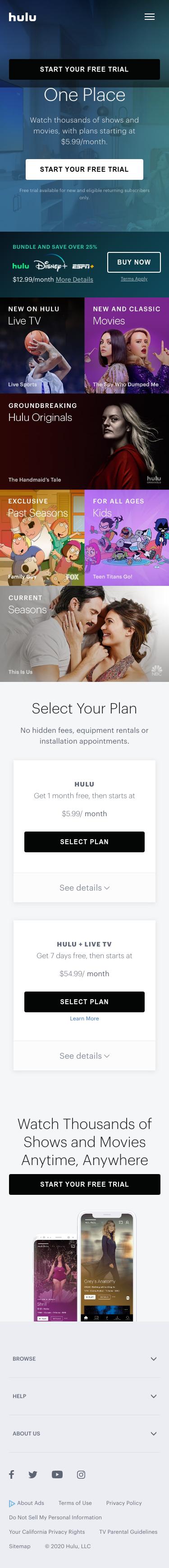 Hulu Coupon