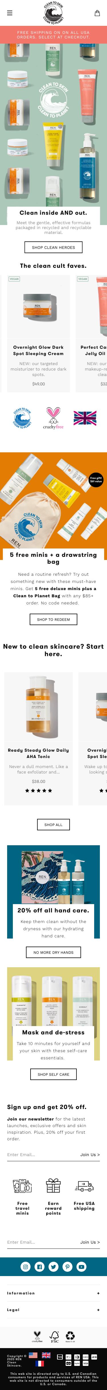 REN Skincare Coupon