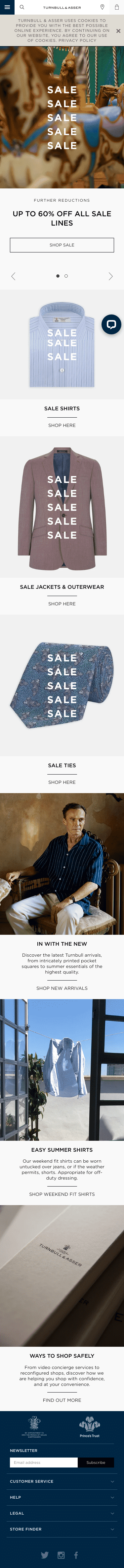 Turnbull and Asser (US) Coupon