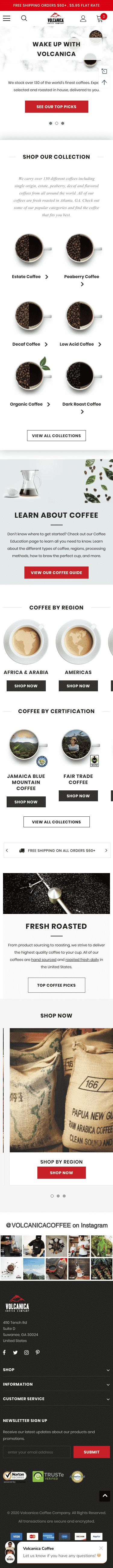 volcanicacoffee.com Coupon